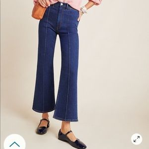 Anthropologie 3x1 Nicolette ultra high cropped